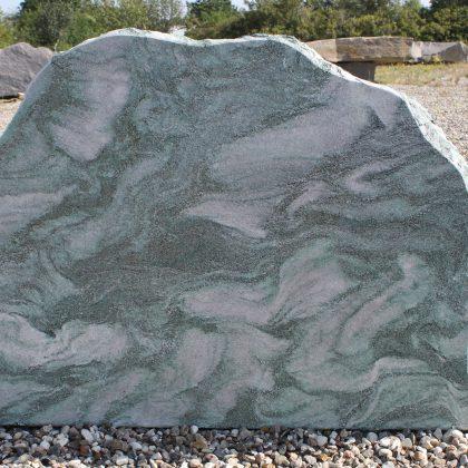 Gravsten lapland grøn brændt 100cm x 80cm
