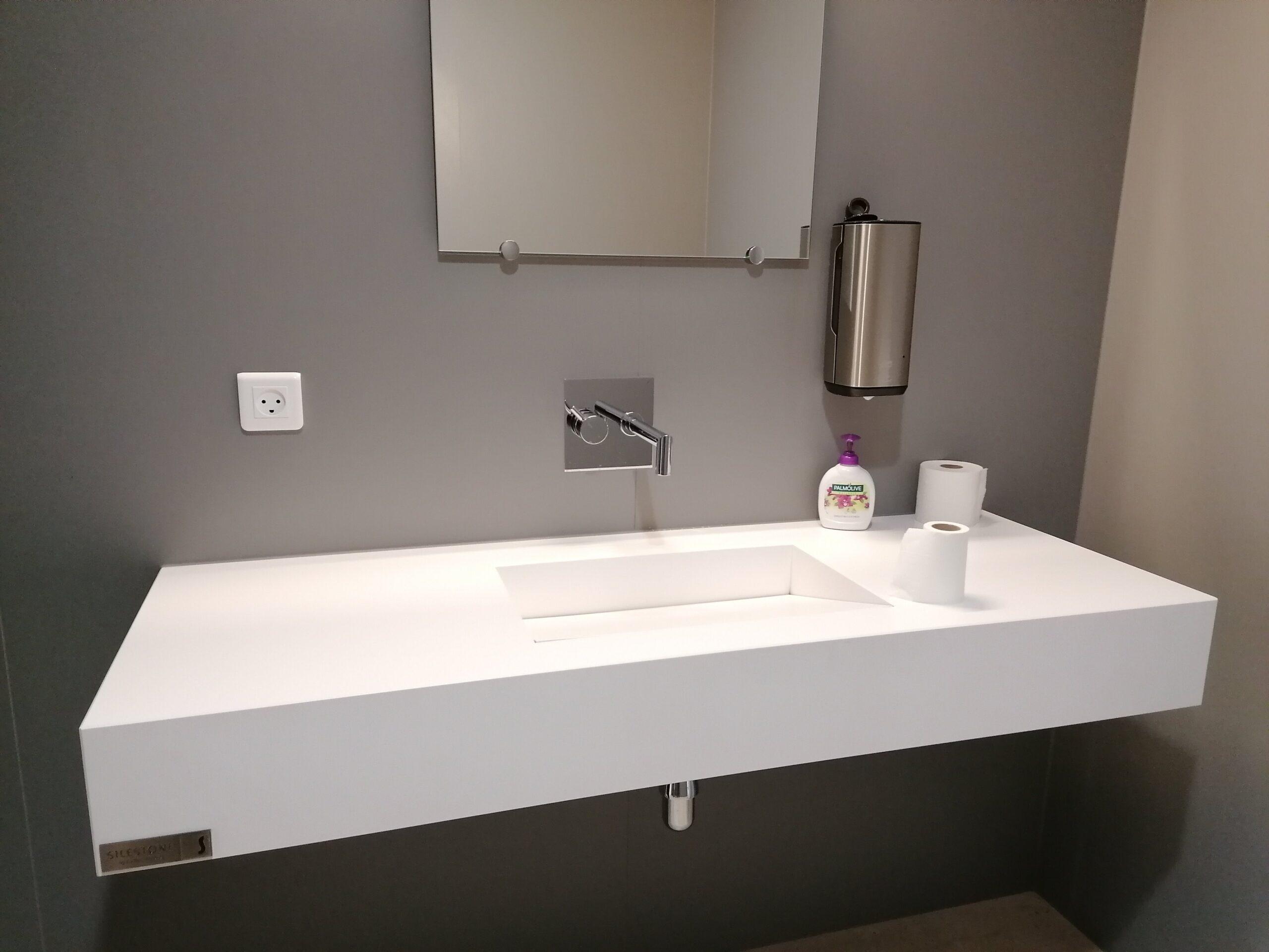 Handvask Til Bad Silestone C Hvid Armony 12 5cm Geringskant Poleret Stenshoppen Dk